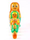 русский вложенности куклы Стоковые Изображения