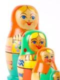русский вложенности куклы Стоковое фото RF