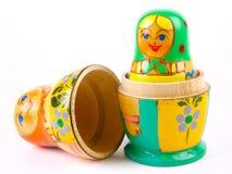 русский вложенности куклы Стоковая Фотография