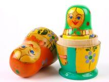 русский вложенности куклы Стоковые Фото