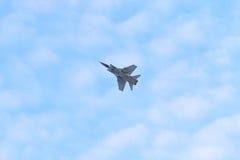 Русский военный самолет MiG-29 Стоковая Фотография