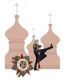 Русский воин Стоковая Фотография