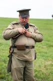 Русский воин Стоковое фото RF