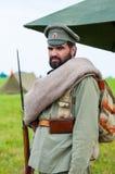 Русский воин Стоковые Фото