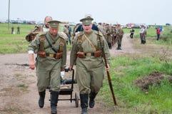 Русский воин Стоковые Изображения