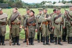 Русский воин Стоковая Фотография RF