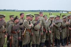 Русский воин Стоковые Фотографии RF