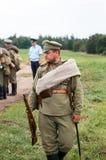 Русский воин Стоковое Изображение RF