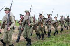 Русский воин Стоковое Изображение