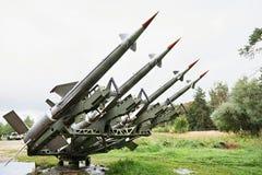 Русский выпускает ракету C-125 Pechora Стоковые Фотографии RF