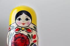 русский вложенности matryoshka кукол Стоковое Изображение