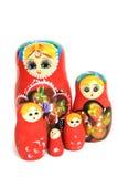 русский группы куклы Стоковое Изображение RF