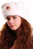 русский девушки стоковое изображение rf