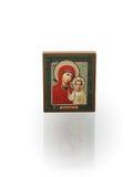 русский иконы миниатюрный стоковые изображения