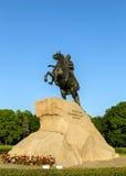 Русский император Питер большой Стоковое Изображение RF