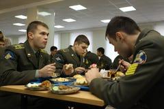 русский коллежа воинский Стоковые Изображения RF