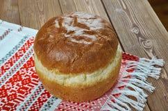 Русский круглый хлеб - karavai Стоковые Изображения RF