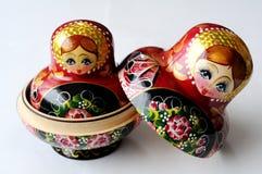 русский куклы Стоковые Изображения