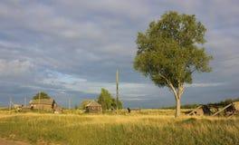 русский ландшафта Стоковые Фотографии RF