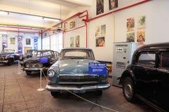 русский музея mosfilm античных автомобилей Стоковое Фото