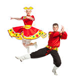 Русский народный танец Стоковое Фото