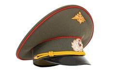русский офицера армии крышки Стоковая Фотография RF