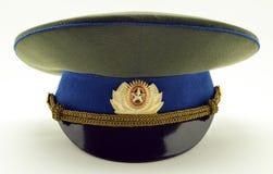 русский офицера армии крышки Стоковые Фото