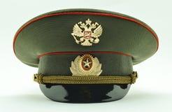 русский офицера армии крышки Стоковые Изображения RF