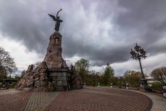 Русский памятник в Таллине, Эстония стоковые изображения