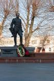 Русский памятник солдата Стоковое Изображение RF