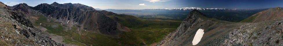 русский панорамы горы Стоковые Фотографии RF