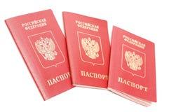 русский пасспорта Стоковая Фотография RF