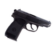 русский пистолета makarov Стоковое фото RF