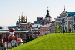 Русский правоверный скит Стоковое фото RF