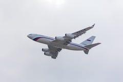 Русский реактивный самолет президента Стоковые Фото