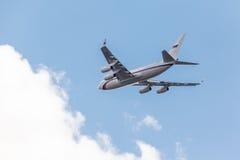 Русский реактивный самолет президента Стоковое Изображение RF
