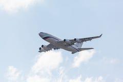 Русский реактивный самолет президента Стоковое фото RF