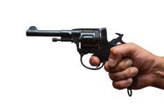 Русский револьвер Стоковые Изображения