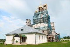 русский реконструкции церков средневековый стоковые фотографии rf
