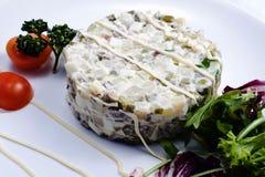 Русский салат стоковые фотографии rf