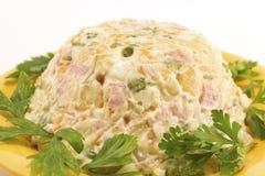 Русский салат Стоковое Изображение RF