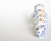 русский семьи куклы arrangment Стоковая Фотография RF