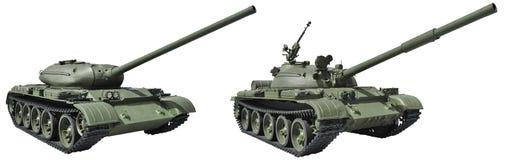 Русский танк средства T-54 1946 Стоковое Фото