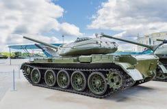Русский танк T-54 Стоковая Фотография