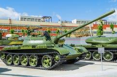 Русский танк T-54B Стоковые Фото