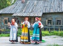 Русский фестиваль фольклора Стоковое Фото