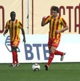 русский футбольной лиги премьер-министр Стоковые Фотографии RF
