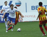 русский футбольной лиги премьер-министр Стоковое фото RF