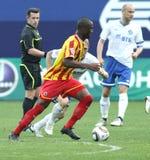 русский футбольной лиги премьер-министр Стоковые Фото