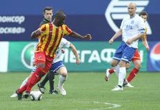 русский футбольной лиги премьер-министр Стоковое Изображение